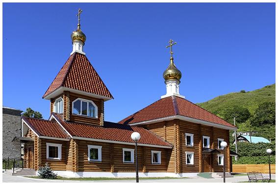 Храм Рождества Богородицы г. Невельска