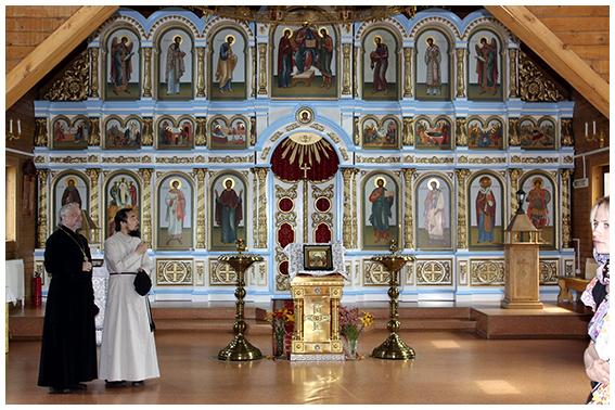 Интерьер Троицкого храма
