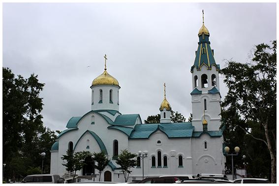 Воскресенский собор г. Южно-Сахалинска