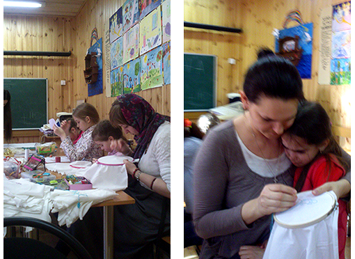 Подготовка к пасхальной благотворительной ярмарке