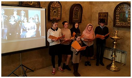 В гости в приход Храма Воскресения Словущего на Ваганьковском кладбище