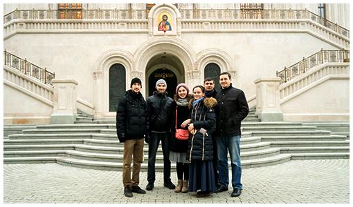 «Филевцы» в Сретенском монастыре