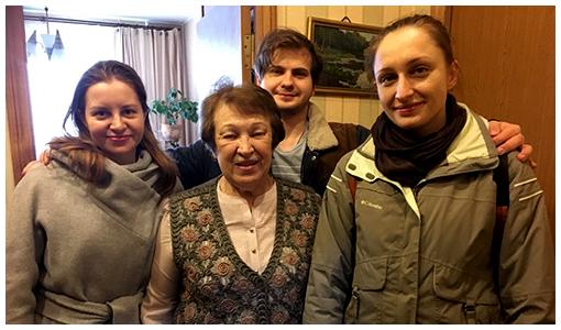 Поздравление наших пожилых прихожан