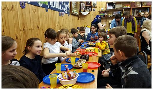 Святочный детский праздник