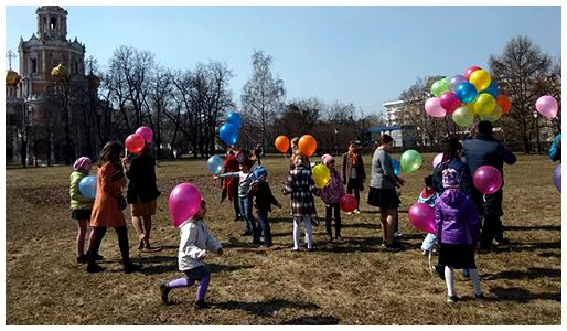 Детский праздник в воскресной школе «Филенок»