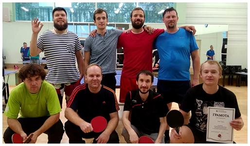 Чемпионат московской городской епархии по настольному теннису.