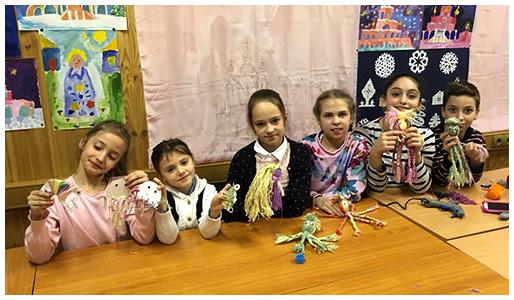 Кружок «Рукоделие» воскресной школы «Филенок»