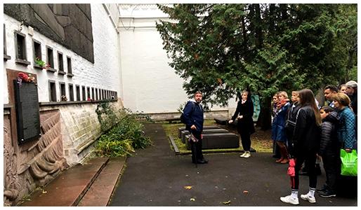 Паломническая поездка воскресной школы «Филенок» в Новодевичий монастырь.
