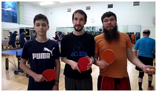 Филевцы» на Третьем Чемпионате Московской городской епархии по настольному теннису