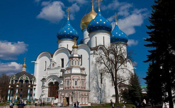 Филевцы в Свято-Троицкой Сергиевой Лавре