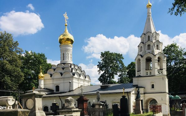 """""""Филёвцы"""" посетили Донской монастырь"""