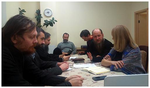 9 декабря в храме прп. Андрея Рублева в Раменках состоялось очередное собрание общественных методистов.