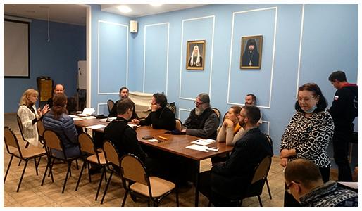 16 сентября 2020 прошло собрание общественных методистов в храме Андрея Рублева
