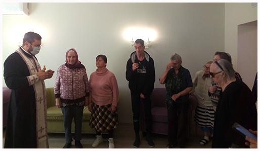 Очередное посещение резиденции для пожилых людей