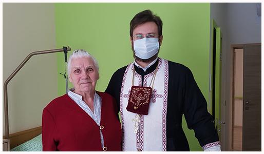 Очередное посещение резиденции для пожилых людей «Идиллия».